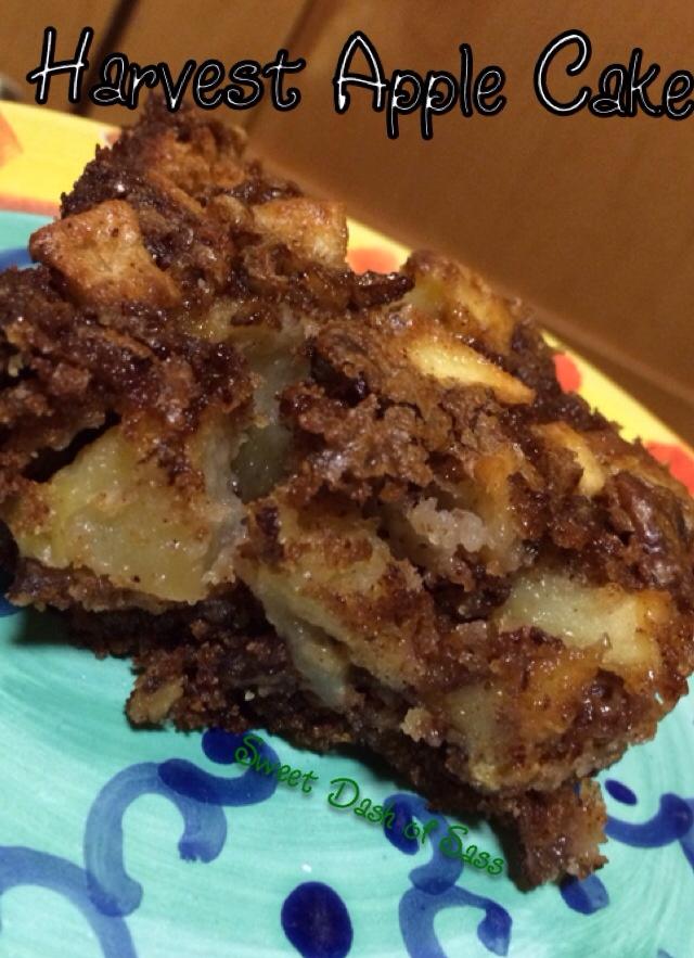 Harvest Apple Cake - www.SweetDashofSass.com