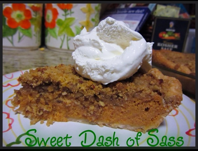 Brown Sugar Streusel-Topped Pumpkin Pie