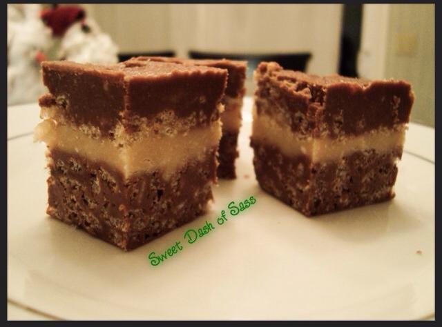 Chocolate Peanut Butter Fudge Crunch - www.SweetDashofSass.com