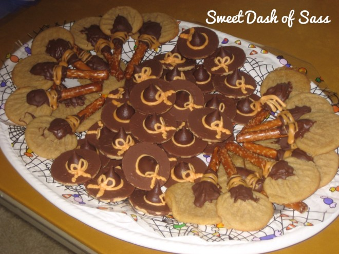 Witches Hats & Broomsticks - www.SweetDashofSass.com
