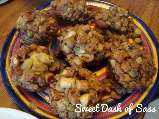 Apple & Onion Stuffin' Muffins - www.SweetDashofSass.com