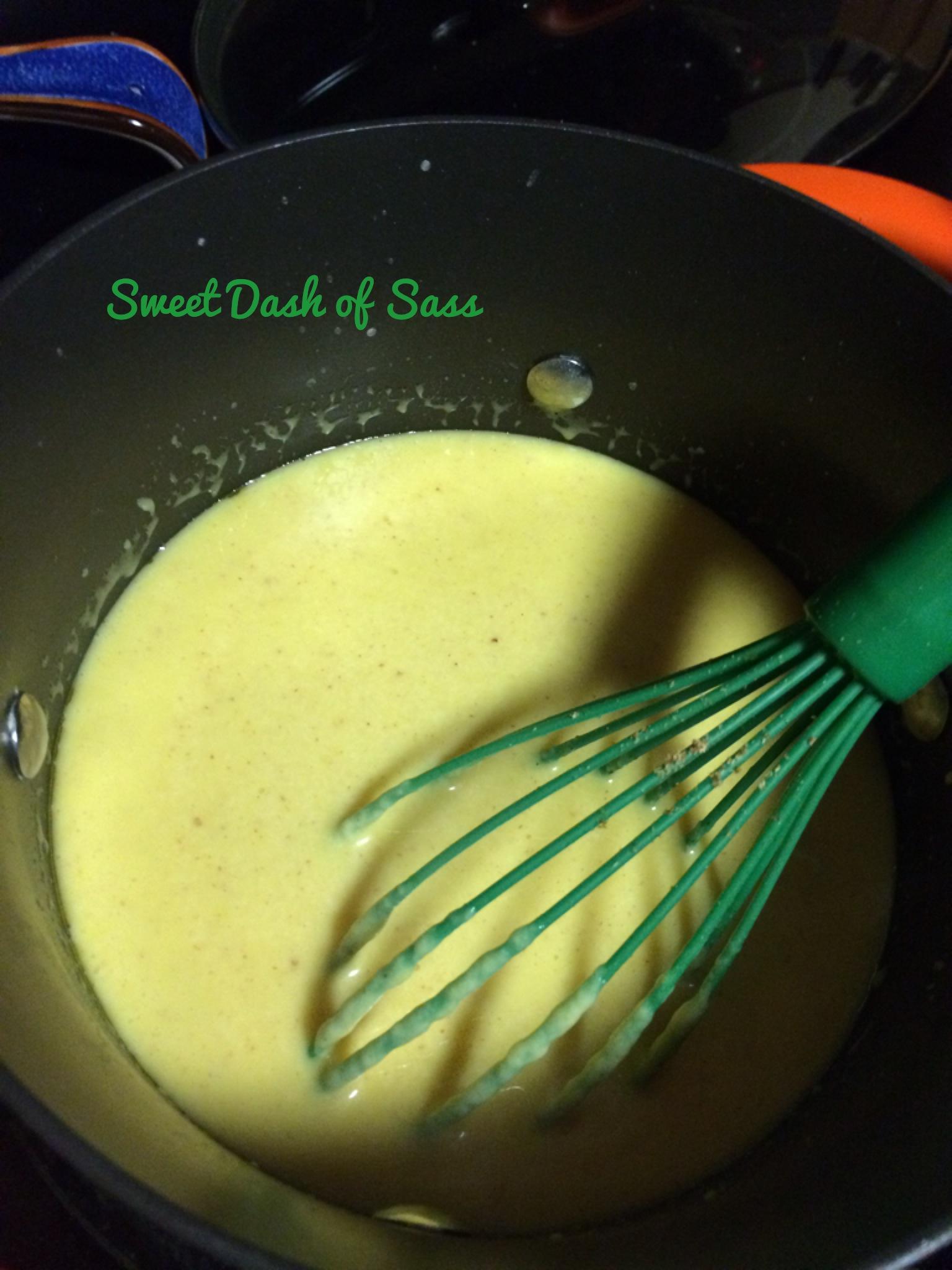 Cheesy-Mustard Sauce - www.SweetDashofSass.com