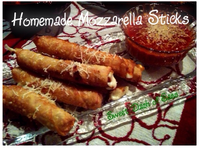 Homemade Mozzarella Sticks - www.SweetDashofSass.com