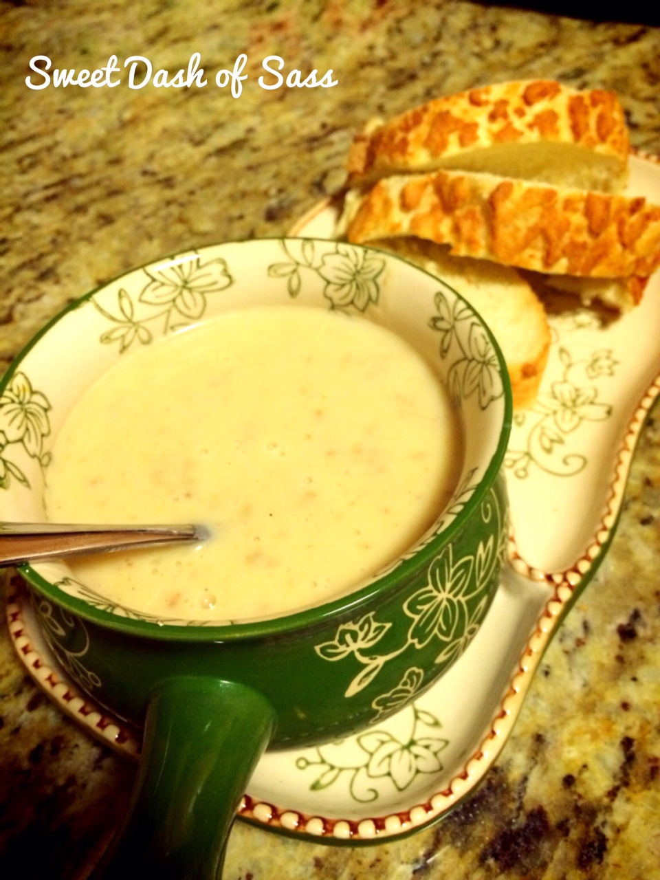 Potato Leek Soup - www.SweetDashofSass.com