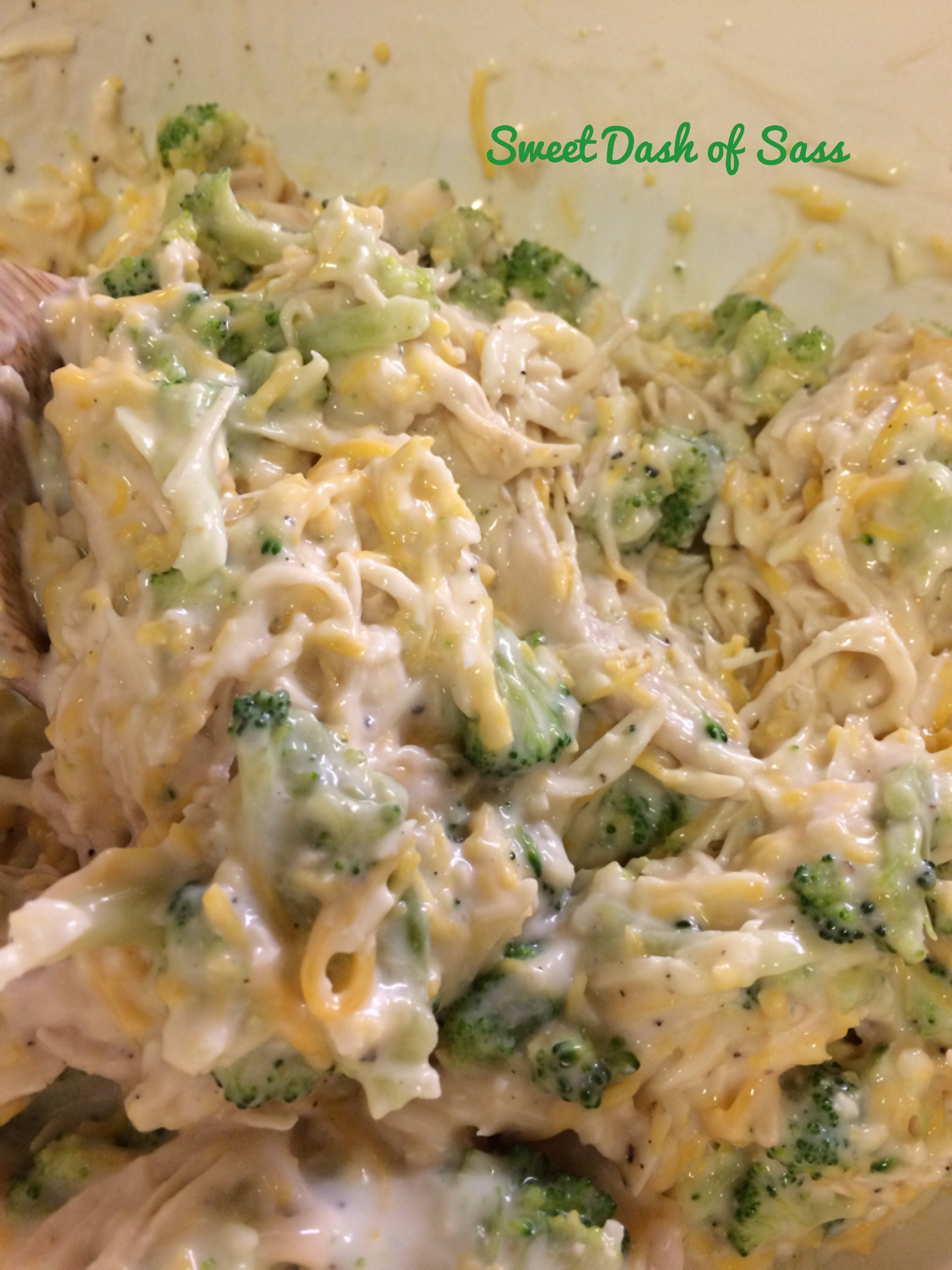 Chicken Brocolli Alfredo Stuffed Shells