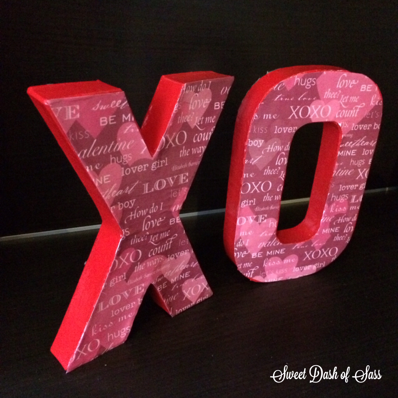 XO Craft - www.SweetDashofSass.com
