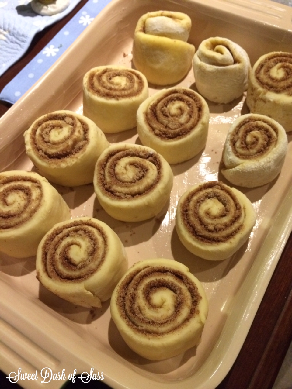 Homemade Cinnamon Rolls - www.SweetDashofSass.com