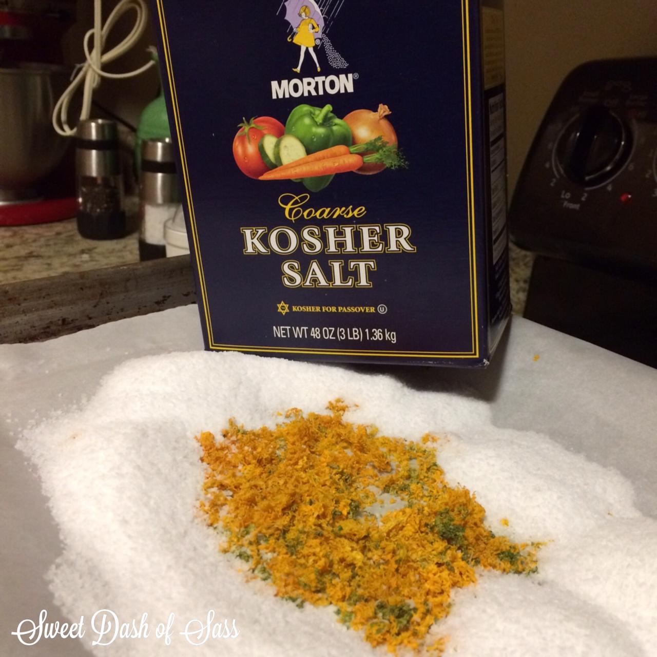 DIY Citrus Salt