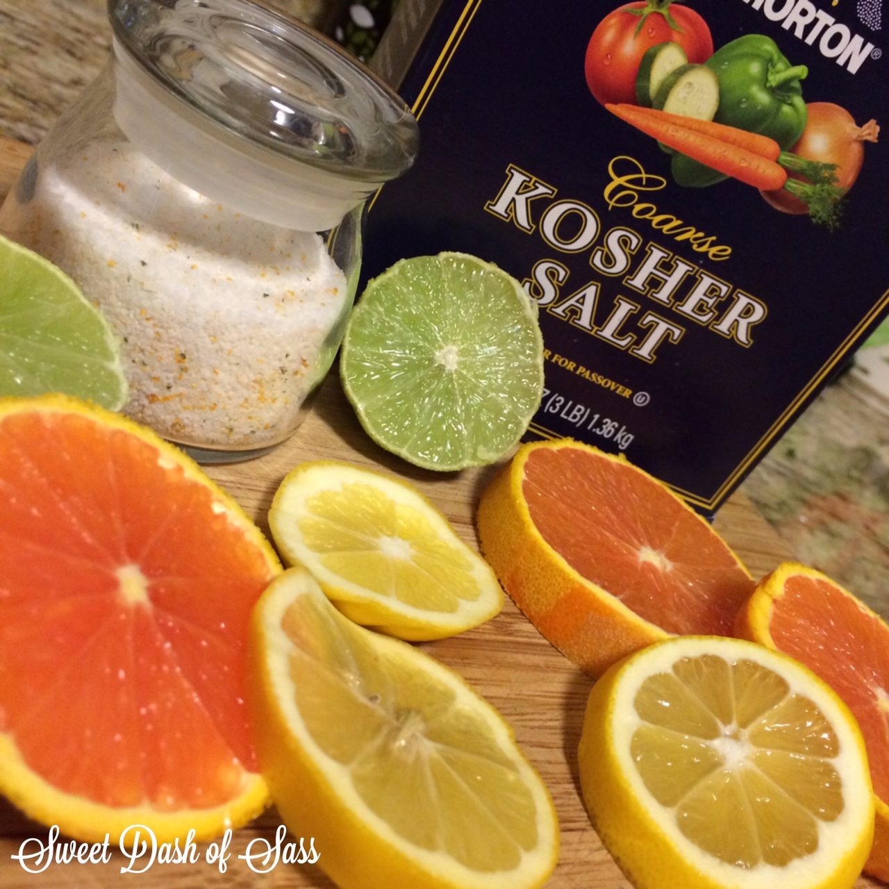 DIY Citrus Salt - www.SweetDashofSass.com