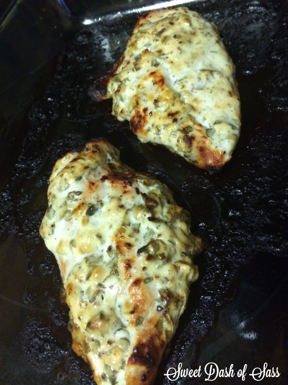 Baked Greek Chicken - www.SweetDashofSass.com -- Check out and LIKE Sweet Dash of Sass on Facebook for more recipes/tips!