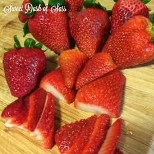 Strawberry Lemon Bars - Made with Meyer Lemons - Oh, so good!  -- www.SweetDashofSass.com