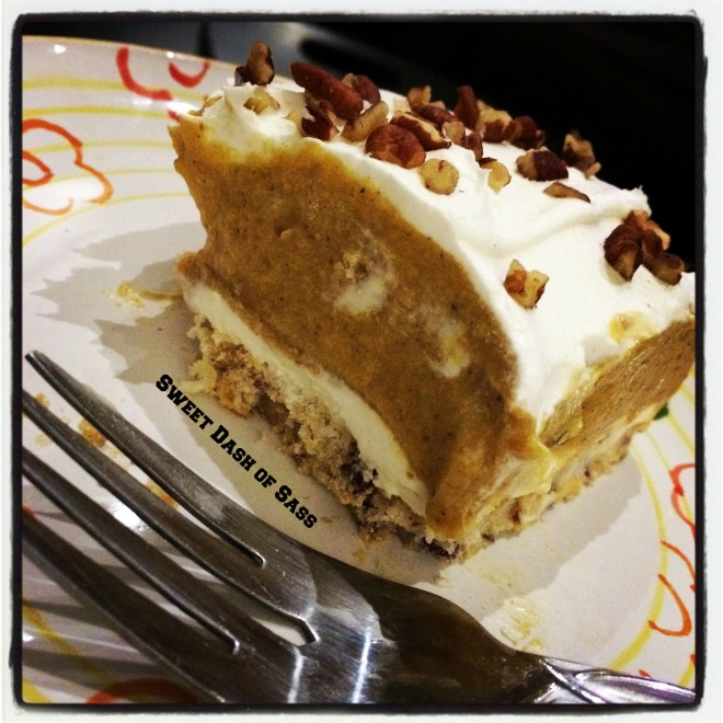 Pumpkin Layer Delight