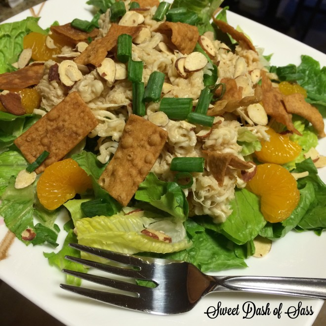 Aunt Laura's Oriental Chicken Salad