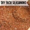 DIY Taco Seasoning - Gluten Free and No Preservatives www.SweetDashofSass.com