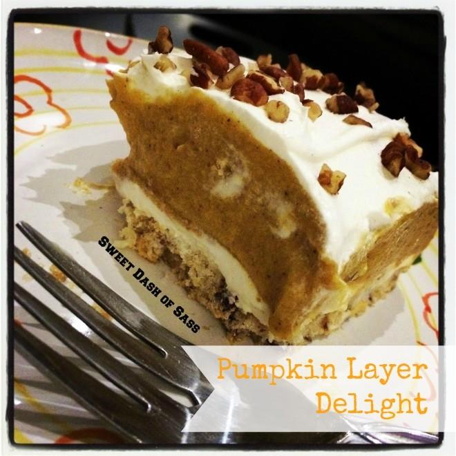 Pumpkin Layer Delight