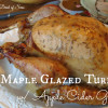 Maple Glazed Turkey with Apple Cider Gravy