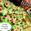 Coconut Macaroons with M&M's